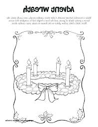 Best Of Preschool Advent Wreath Coloring Pages