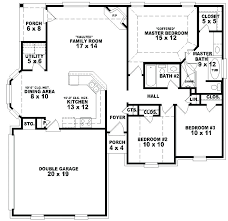small house floor plans one story bedroom house plans on small house plans with open floor