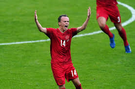 Real Madrid join race for Mikkel Damsgaard