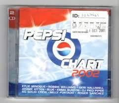 Details About Hz752 Pepsi Chart 2002 44 Tracks Various Artists 2001 Double Cd