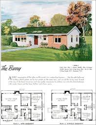 plans ranch style house plans awesome vintage elegant what did homes look like 1950s home