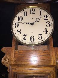 howard miller schoolhouse wall clock