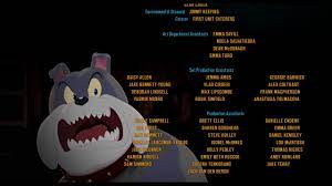 TOM AND JERRY:THE MOVIE 2021 END CREDITS IN BACKWARD PLAY - YouTube