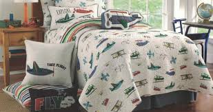 Quilts for Kids & Teens – Seascape Lifestyle & Airplanes & Jets â?? Full/Queen Quilt Set ... Adamdwight.com