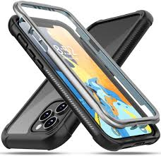 Amazon.com: Oterkin compatible with iPhone 12 Pro Max Case, Built-in Screen  Protector Full Body Rugged Bumper Clear Case for iPhone 12 Pro Max(6.7inch):  Electronics