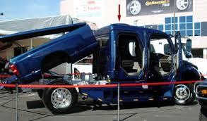 KVH SEMA Blog: Finding a home on the big trucks