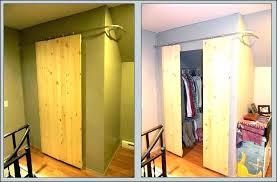 diy barn sliding door barn door closet barn door closet tutorial dorm room crafts closets with diy barn sliding door