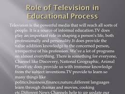 role of tv in education essay edu essay