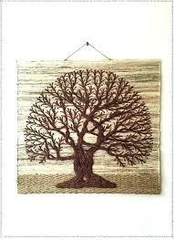 tree of life wall hanging metal art large