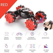 RC Stunt Car 4WD Watch Gesture Sensor Control <b>2.4G</b> RC ...