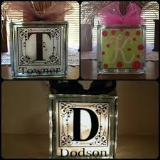 block lights how fun are these personalized glass block with lights make sure to grab your block lights solar lighting ideas glass