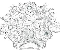 Free Printable Flower Coloring Pages Utibaamericascom