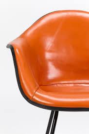 orange leather chair inspirational foxhunter modern tub chair armchair pu faux leather chrome leg