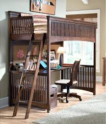 bunk bed trundle desk image of wooden loft beds with and storage