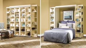 murphy bed with shelves. Interesting Shelves Murphy Beds Have Been Working Their Magic In Small Spaces For Decades  Built So They Fold Up And Disappear Into A Wall These Compact Are Perennially  Throughout Bed With Shelves