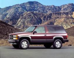CHEVROLET Tahoe 3 doors specs - 1991, 1992, 1993, 1994, 1995, 1996 ...