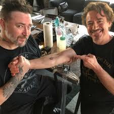 актеры мстителей сделали себе одинаковые татуировки и фанаты