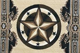 texas star rug rugs 4 less collection lone star state novelty area rug black rustic texas