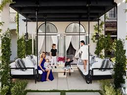 kourtney and khlo kardashian give a house tour of their homes