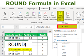 Excel Round Formulas Round Formula In Excel Step By Step Examples Of Round Formula