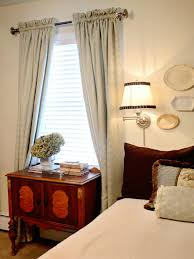Small Bedroom Window Treatment Incredible Tablecloth Window Treatment Window Treatments Ideas For