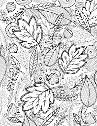 Free Printable Fall Leaves Coloring Pages Leaf Gravity Falls Bill