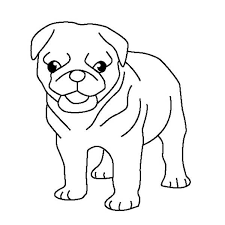 Small Picture Pug Puppy Coloring Page Pug Puppy Coloring Page Color Luna