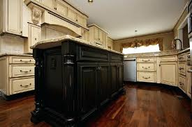 Antique Black Kitchen Cabinets Cool Decorating Ideas