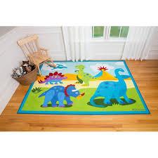 excellent wildkin olive kids dinosaur land area rug reviews wayfairca in dinosaur area rug ordinary