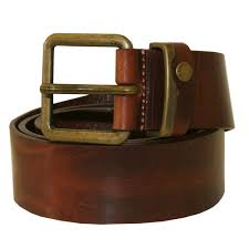 casual leather jeans belt tan