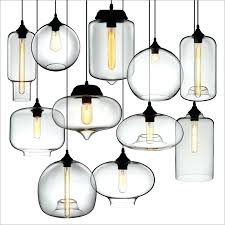 glass bell shade vintage pendant light industrial lamp style clear glass bell shade fixture loft coffee