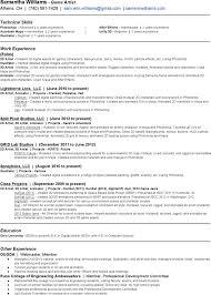 3d Animator Resumes 7 Animator Resume Templates Free Download