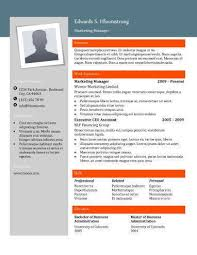 Contemporary Modern Resume Templates Free Download