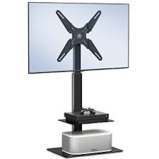 "Buy FITUEYES <b>Swivel TV Stand Floor</b> Bracket <b>Mount</b> fit 19""-55'' LCD ..."