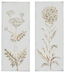 rectangular gold and white fl metal