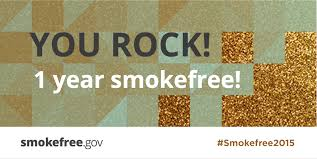 Image result for celebrating pictures 1 year smoke free