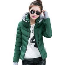 Compare prices on <b>2018</b> Fashion <b>Wadded Jacket Female</b> Coat ...