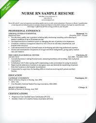 Sample Nurse Resume Registered Nurse Nurse Resume Examples Fabulous