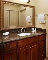 white bathroom cabinets with granite. Plain White Bathroom Cabinets Granite Countertops Makeover Reveal With