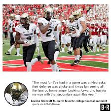 College Football Quotes On Twitter Colorado Wr Laviska Shenault