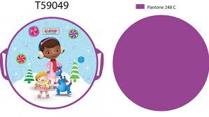 <b>Ледянка</b> 1toy <b>Disney</b> Доктор Плюшева <b>52 см</b> круглая Т59049 ...