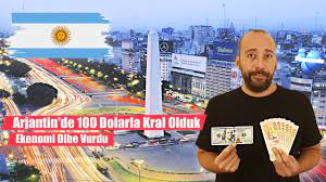 Arjantin'de 100 Dolarla Kral Olduk: Ekonomi Dibe Vurdu (Seyahatname - Latin  Amerika) - YouTube