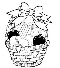 Small Picture fruit basket coloring pages to print Food Pinterest