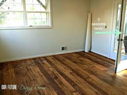 vinyl plank flooring kitchen new glue down hand sed loose lay menards reviews floori