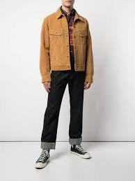 best made co rough out trucker jacket