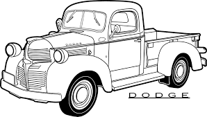 coloring pages chevy trucks inspiration 40 free printable truck coloring pages procoloring