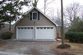 2 car garage with bonus room