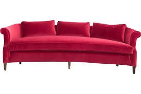 red velvet sofa. Lounge Furniture - Vintage [Red Velvet Sofa] Red Sofa N