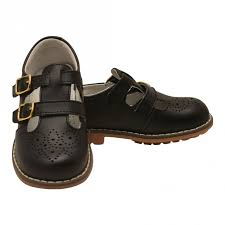l amour uni black double t strap buckled leather mary jane shoes 5 10 toddler sophia s style