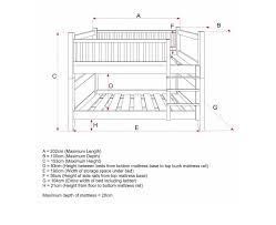 Bunk Bed Mattress With Variety Of Sizes And Type Ideas